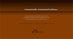 Preview of crossroadscommunications.org